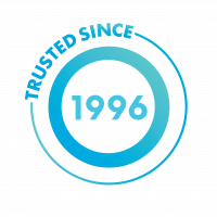 Trusted Since 1996 Icon_Blue