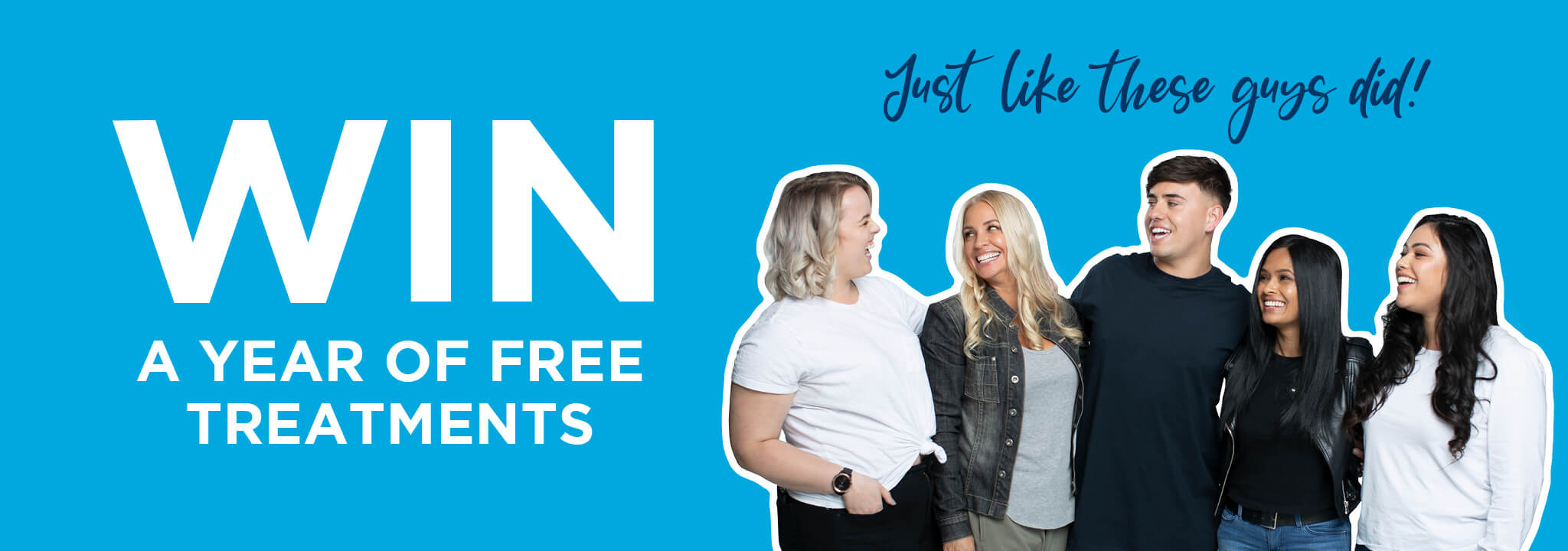 Win a year of free treatments